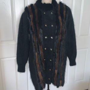 Rare Cache real fur coat